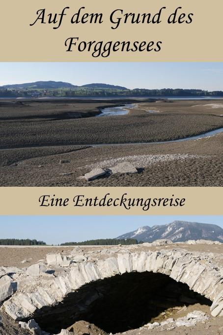 Eine Entdeckungsreise auf dem Grund des Forggensees im Allgäu