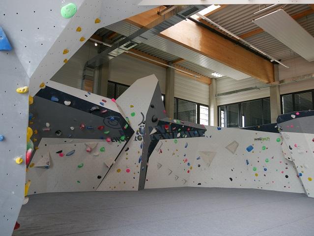 Boulderbereich im swoboda alpin in Kempten