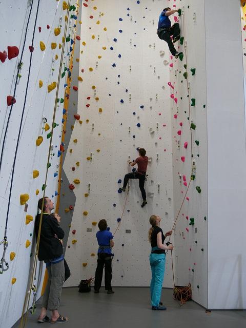 Kletterkurs im swoboda alpin Mai 2017