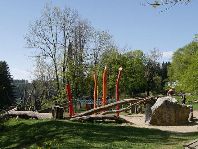 Spielplatz an der Reha-Klinik Oy-Mittelberg