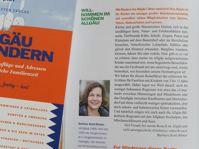 Blick ins Buch - Autorenportrait Barbara Kettl-Römer