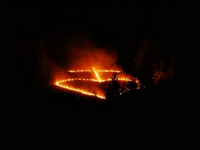 Flammenherz am Neunerköpfle im Tannheimer Tal