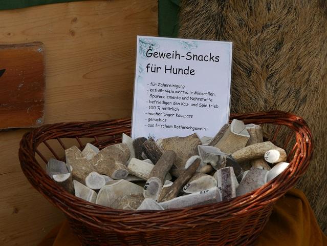 Geweih-Snacks für Hunde