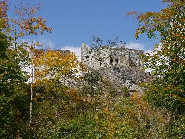 Burgruine Laubenberg-Stein bei Immenstadt im Allgäu