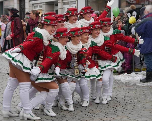Faschingsumzug Mindelheim 2018 - Garde der Zaisonarria