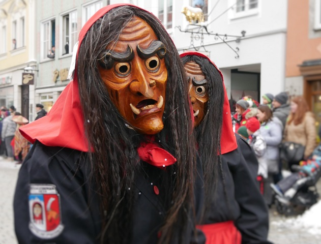 Faschingsumzug Mindelheim 2018 - Hexen aus Mittelneufnach