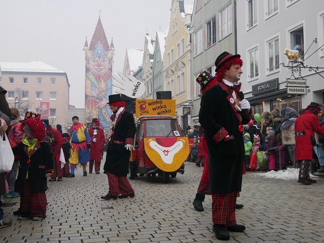 Faschingsumzug Mindelheim 2018 - Rote Zinka