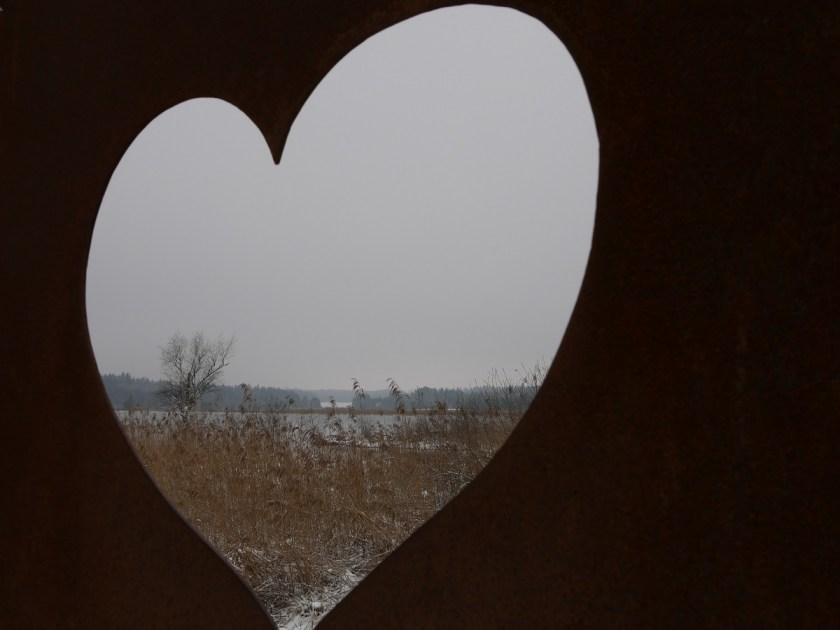 Wintertraum Elbsee - herziger Blick in eine Pastelllandschaft