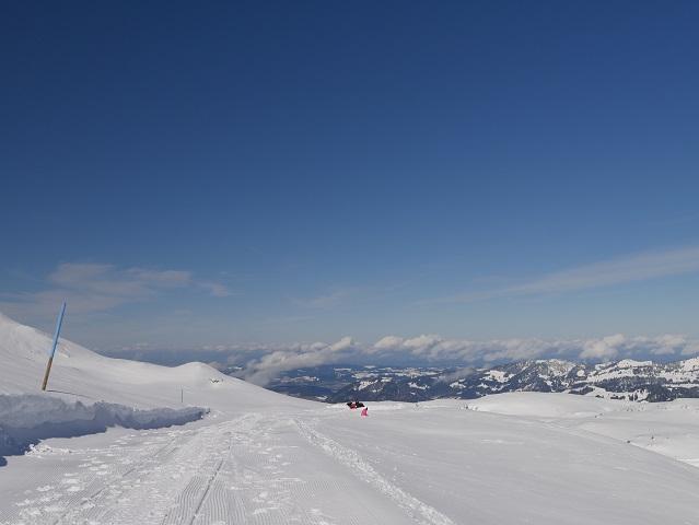 Winterwandern am Hohen Ifen - auf dem Rundwanderweg 1
