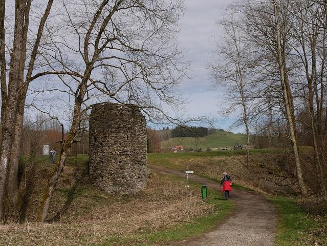 Burgruine Alt-Kalden am Illerdurchbruch