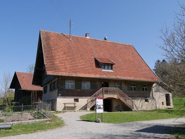 Haus Häusing im Bauernhausmuseum Wolfegg