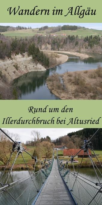 Rundwanderung um den Illderdurchbruch bei Altusried - Pin
