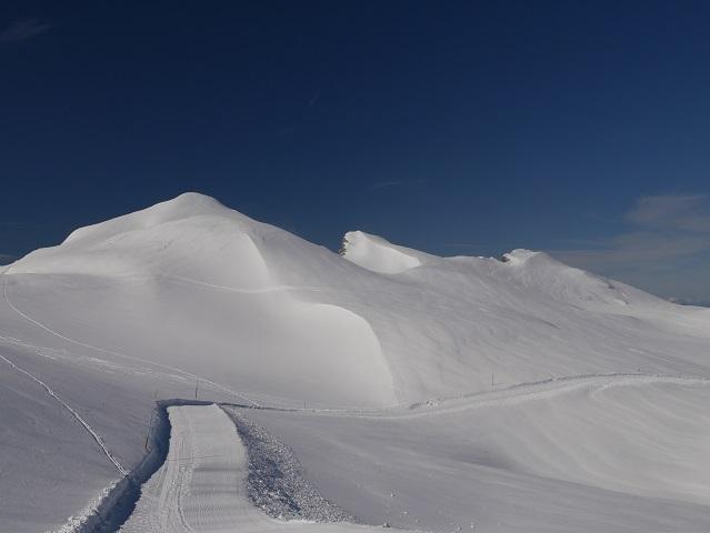 Kontrast - Schnee und Himmel am Hohen Ifen #FopaNet