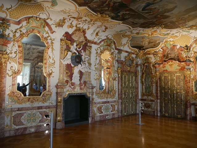 Audienzsaal in der Residenz Kempten