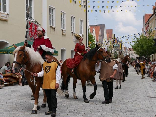 Die Ritter von Rechberg auf dem Frundsbergfest Mindelheim 2018