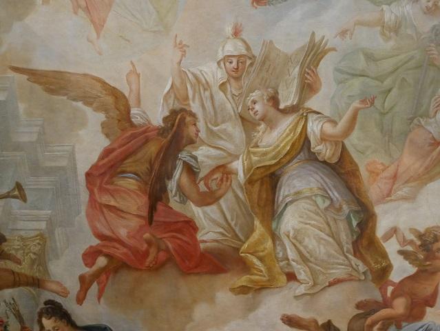 Weg der christlichen Seele in den Himmel