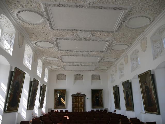 der Fürstensaal der Residenz Kempten