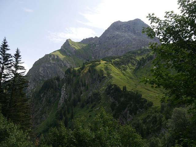 Der Große Widderstein im Kleinwalsertal