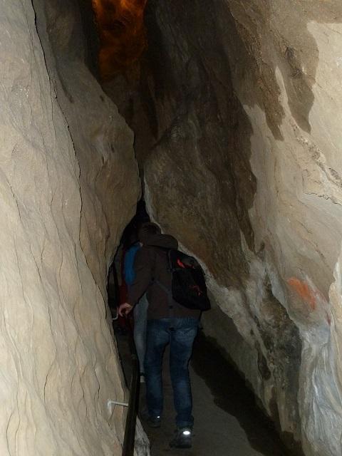 In der Sturmannshöhle bei Obermaiselstein
