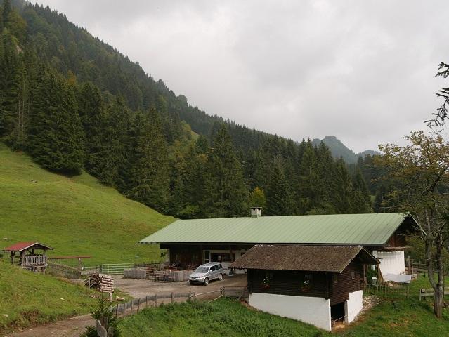die Alpe Topfen am Grünten