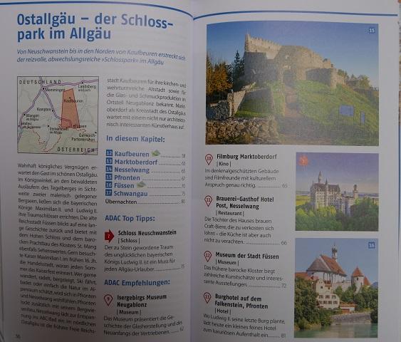 ADAC-Reiseführer Allgäu - Blick ins Buch