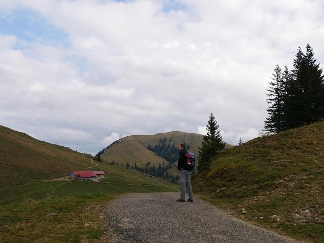 Blick vom Leiterberg auf die Obere Gelchenwangalpe