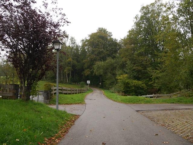 Startpunkt zum Spaziergang zur Ruine Alttrauchburg