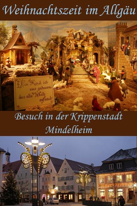 Bezaubernde Weihnachtszeit in der Krippenstadt Mindelheim