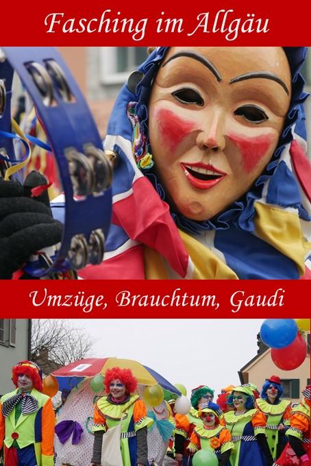 Fasching im Allgäu - Brauchtum, Umzüge und andere Events