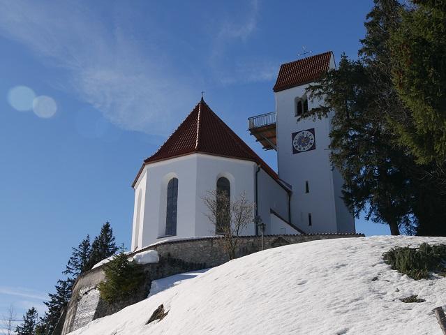 Kirche St Georg auf dem Auerberg