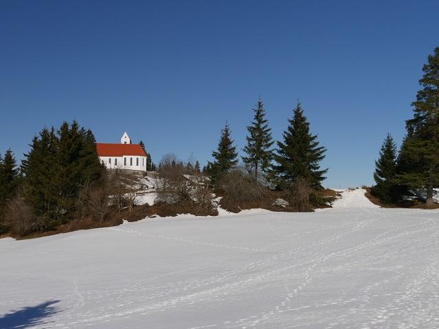 auf dem Römerweg zum Gipfel des Auerbergs