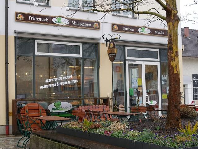 Café Lausfehl in Marktoberdorf - Außenansicht