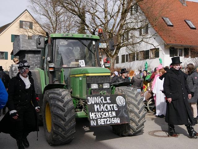 Faschingsumzug Obergünzburg 2019 - Dunkle Mächte aus Betzigau