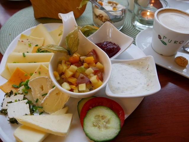 Veggie-Frühstück im Café Lausfehl