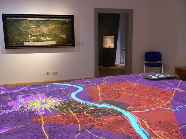 3D-Stadtmodell der Stadt Kempten nach dem Dreißigjährigen Krieg