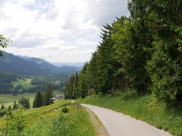 ins Tal nach Balderschwang wandern