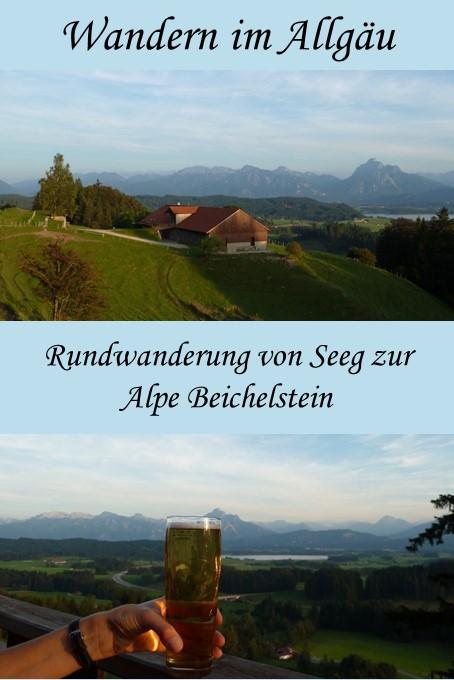 Rundwanderung über den Senkelekopf zur Alpe Beichelstein