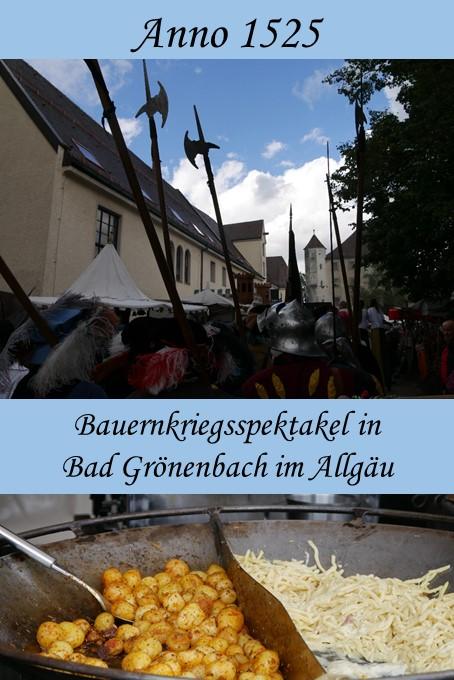 Bauernkriegsspektakel Anno 1525 in Bad Grönenbach im Unterallgäu