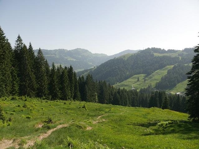 Berglandschaft bei Balderschwang im Allgäu