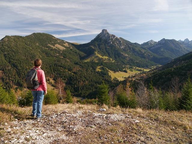 Blick auf den Breitenberg und den Aggenstein von Süden