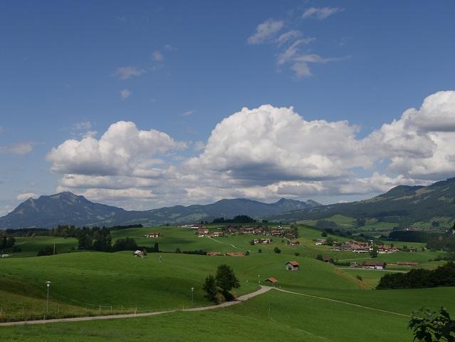 Grüntenblick von Obermaiselstein aus