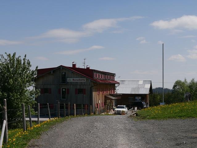 die Buronhütte bei Wertach