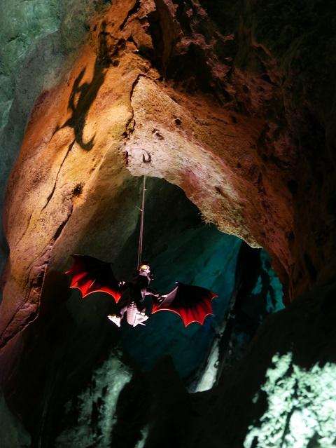 Drache in der Sturmannshöhle Obermaiselstein