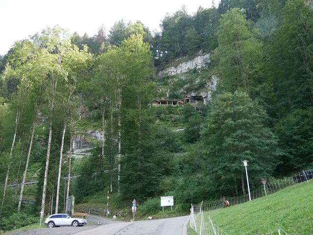 Eingang zur Sturmannshöhle Obermaiselstein