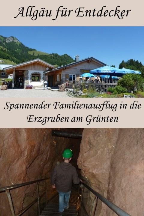 Spannender Familienausflug in die Ergruben am Grünten im Allgäu