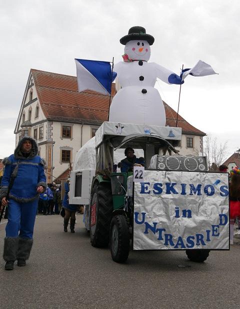 Eskimos im Fasching
