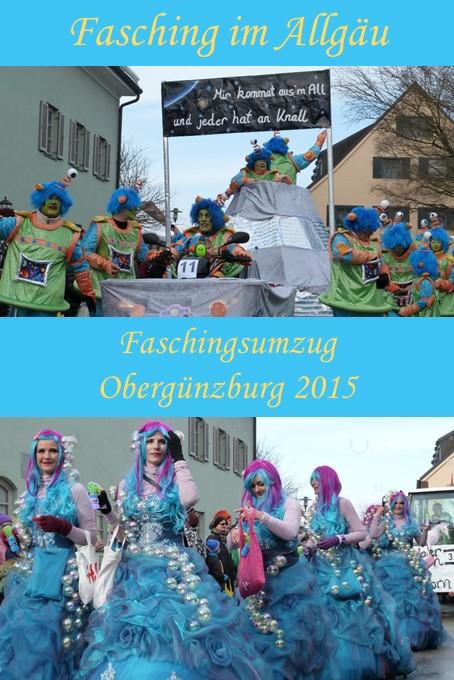 Faschingsumzug Obergünzburg 2015