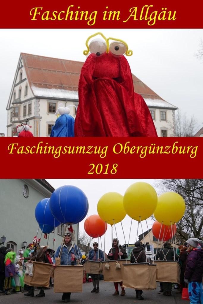 Faschingsumzug Obergünzburg 2018