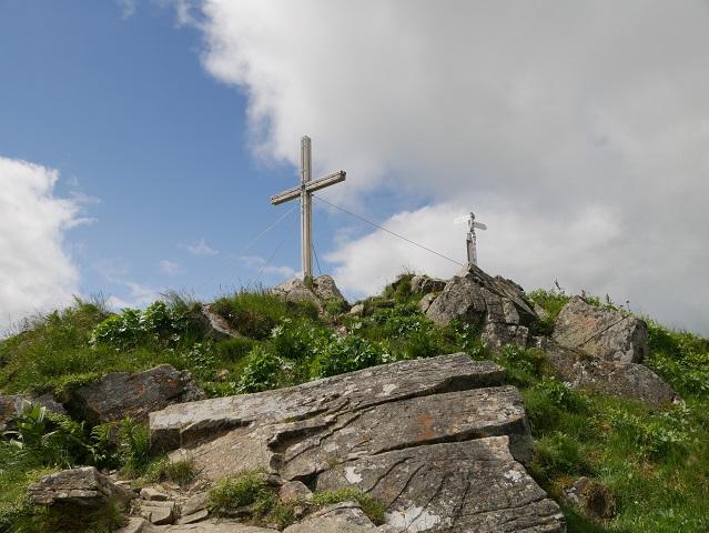 Bergtour aufs Steinmandl - am Gipfel