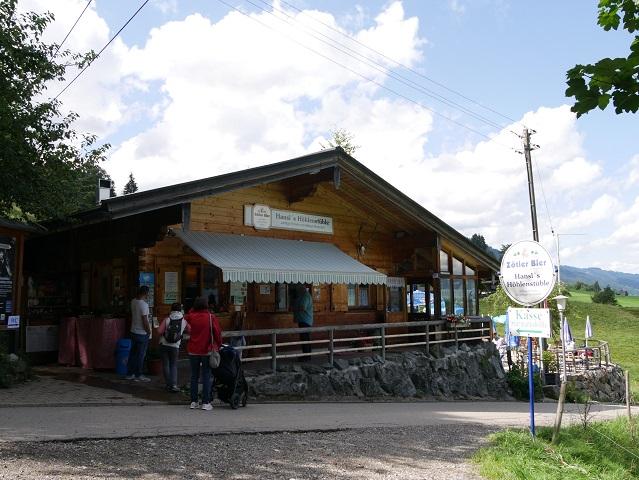 Hansls Höhlenstüble in Obermaiselstein
